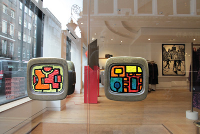 Paul Smith Mayfair store inspired by Barbara Hepworth and Ben Nicholson